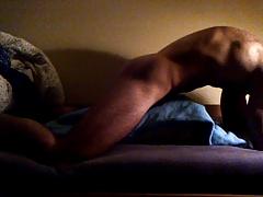 Boy fucks his blanket 2