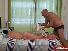 Horny Daddy Bears Fucking a Twink