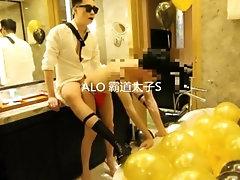 chinese twink hotel bondage sex part 2