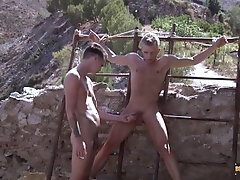 Hung Twink Has A Toy To Play With