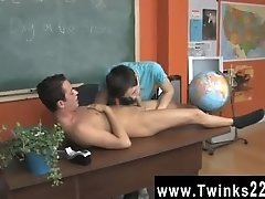 Teen boy gay bareback tube Taking it in the can will drive him