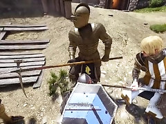 GAY TWINK FEMBOY KNIGHT SUCKS OFF DADDY KNIGHT WHO HAS A HUGE DICK AND IS VERY GAY NOT STRAIGHT