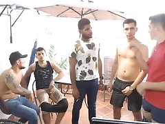 sexy guys hanging out