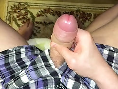 Medium Uncut Dick Wants To Be Milking
