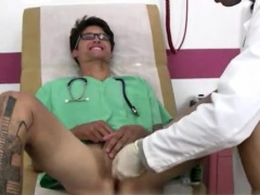 Gay twinks college physical exam first time He put the prost