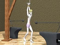 Video 02 - Matt is Tortured by two Gut Punch Machines