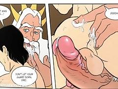 Cartoon - Anime yaoi - animated cartoon - Comic gay hentai