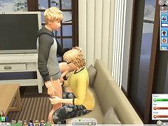 Sims 4 Gay Yoing love